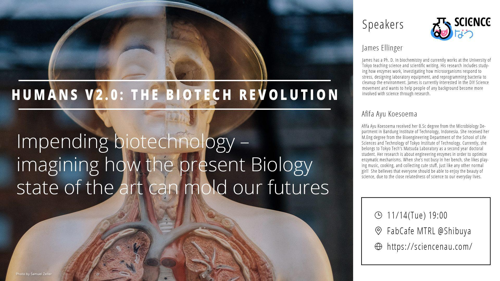 BioClub Weekly: Humans V2.0: the Biotech Revolution