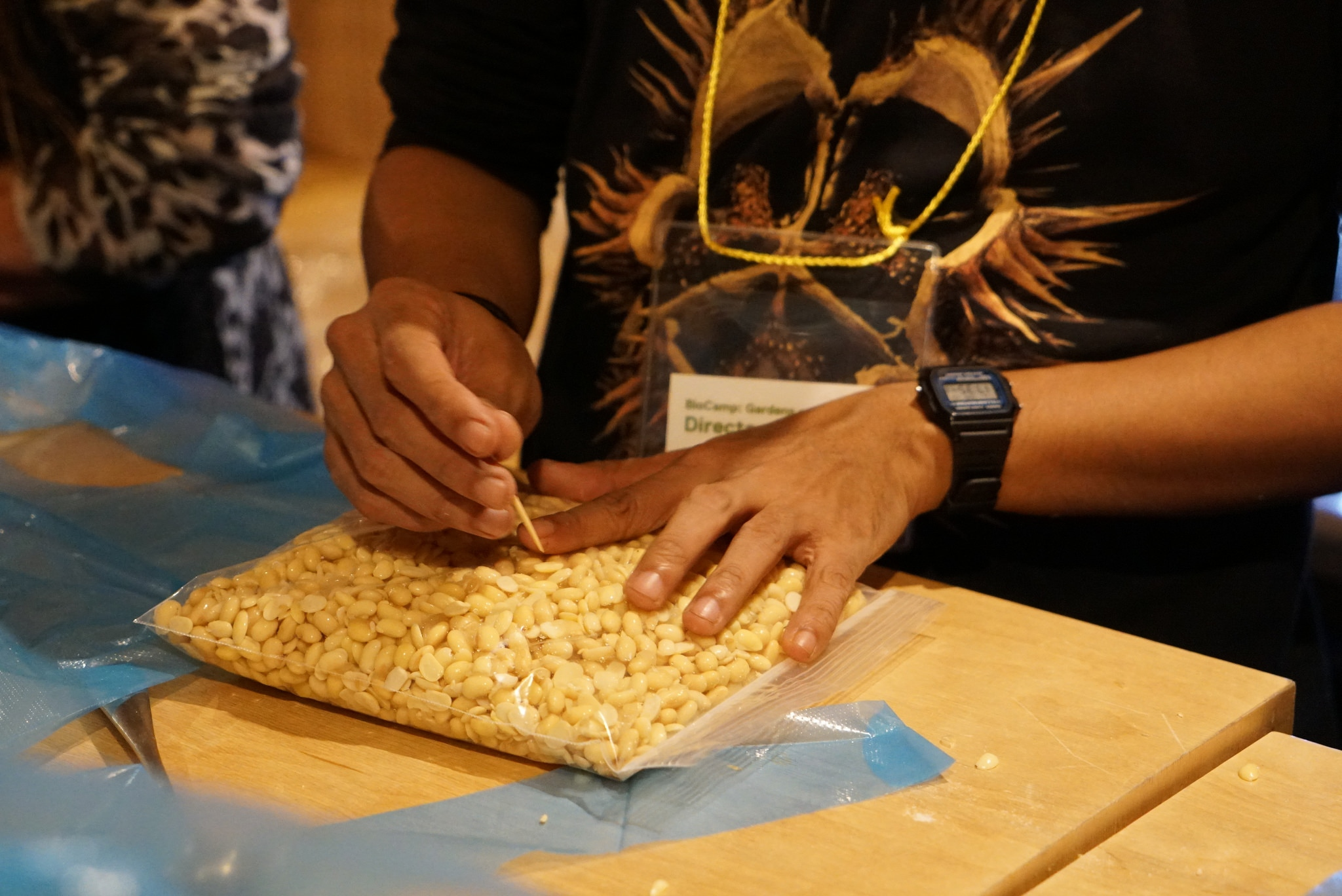 Tempeh Making Workshop by Nur Akbar Arofatullah(Lifepatch)